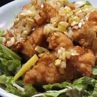 油淋鶏(鶏のから揚げネギソース)