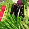食材のこだわり:【新鮮な旬の地野菜】その日に仕入れるお野菜で健康的なお料理をつくります☆