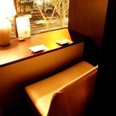デートに最適な窓際のカップル個室