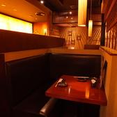 カップルに最適!2名様専用のテーブル席【九州熱中屋 関内LIVE】【関内駅】【忘年会】【飲み放題】