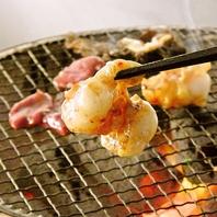 タレに揉みこんだ肉を洗いダレに潜らせて食べる大阪焼肉