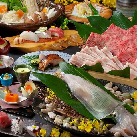 博多の美味が集う「博多の砦」日本文化を感じられる、心落ち着く美食空間。