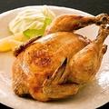 料理メニュー写真ぱたぱた家 名物「ロティサリーチキン」(鶏の丸焼き)