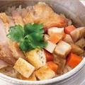 料理メニュー写真鶏釜めし(釜めし用お茶漬けセットもご用意致しますのでお気軽にお申し付けください。)