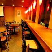 【1~2名様/カウンター席】買い物や映画帰りのサク飲み・サク飯にぴったりのカウンター席。