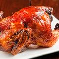 料理メニュー写真よっぱらい鶏丸揚げ(山椒塩/四川怪味だれ)