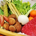 料理メニュー写真【季節のおすすめ】お肉や野菜も鮮度抜群!