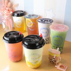 雪晶の茶の写真