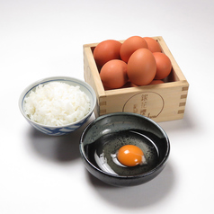 料理メニュー写真美豊卵の卵かけご飯