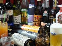 お酒の種類が豊富!