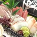 料理メニュー写真本日の鮮魚のお刺身