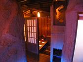 絨毯の個室