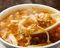 料理メニュー写真サンラースープ