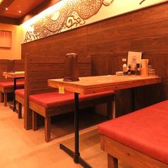 夜はテーブル席でサクのみ、二次会、飲み会後での〆の食事などがオススメ!※席数詳細は店舗にご確認ください。