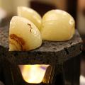 料理メニュー写真淡路玉葱の溶岩焼