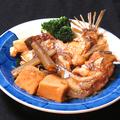 料理メニュー写真天然鯛のあら炊き