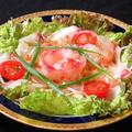 料理メニュー写真白身魚のカルパッチョ