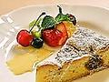 料理メニュー写真リコッタチーズタルト