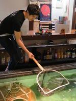 巨大な生簀から獲って調理!新鮮な海鮮をご提供☆
