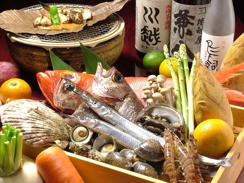 小倉駅徒歩7分!!新鮮な鮮魚が自慢の魚マルシェ!飲み放題付コースもあり♪