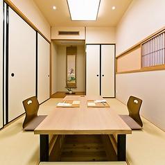 最大8名様までご利用可能な個室をご用意しております。法事やご宴会など、ご相談ください。