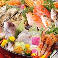 新鮮な鮮魚を使った海鮮!