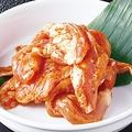 料理メニュー写真名物鶏セセリ(赤/白/味噌/タレ)