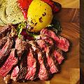 料理メニュー写真米国産 1ポンドステーキ