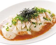 料理メニュー写真清流チキンと豆腐のサラダ