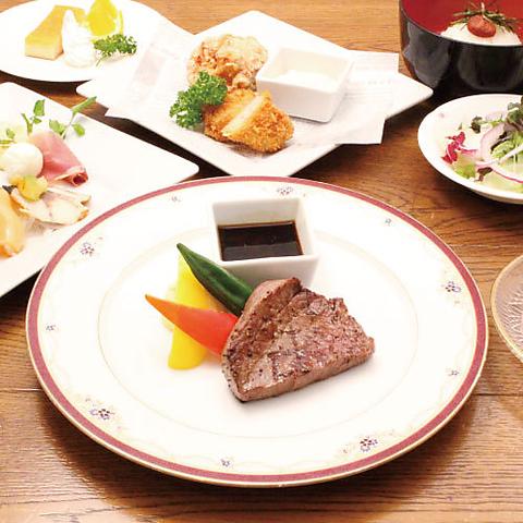 【2020年11月〜2021年1月限定】◆飛騨牛のステーキが付いたプレミアムプラン5,000円(税込)