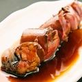 料理メニュー写真【限定品】レバー串焼き(タレ) ※お1人様1本限り