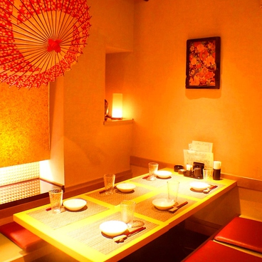 旬菜鮮酒 咲咲 さくさく 岡山の雰囲気1