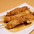 料理メニュー写真味噌串カツ:土手煮を煮込んだ旨味たっぷり味噌で