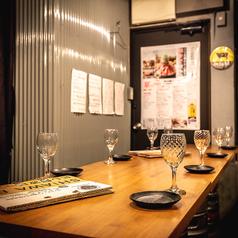 ◆個室店内奥テーブル席◆最大12名様までご利用いただける人気の個室席となっております。歓送迎会におすすめ!!