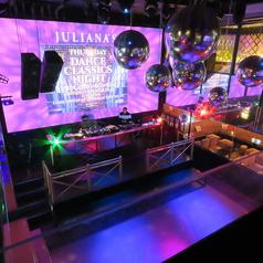 CLUB DISCO JULIANA'S TOKYO ジュリアナ東京 梅田の雰囲気1