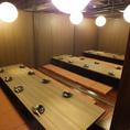 24名以上個室 【最大83名様】まで★※系列店との併設店舗です。