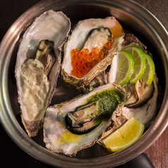 料理メニュー写真北海道オイスターカクテル