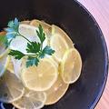 料理メニュー写真レモン冷麺