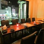 【2階】2階ある完全個室テラス席です。最大12名様まで収容可能です♪女子会や合コン、会社宴会などに最適◎