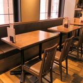 2名様、4名様、6名様や10名様以上の飲み会でもお席の確保はもちろん対応可能です◎