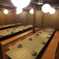 36名以上個室 【最大83名様】まで★※系列店との併設店舗です。