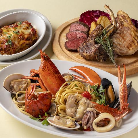 新鮮魚介と豪快肉料理/イタリア伝統料理を気軽に楽しめる本場の大衆食堂がヒカリエに!