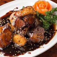 おすすめ!長芋入り特製黒酢豚