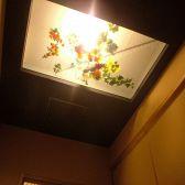 天井を走る水流。それぞれ違った顔のお部屋には随所に見られる粋な遊び心も楽しめます。