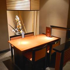 2~4名様のお食事会にぴったりなテーブル席です。