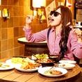あれもこれも380円(税込418円)!?種類豊富お酒とお料理をお得に満喫!!【イタリアン/パスタ/ピザ/リゾット/飲み放題/食べ放題/食べ飲み放題/大分/中央町/女子会/テイクアウト】