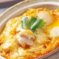 料理メニュー写真地養卵使用の親子丼