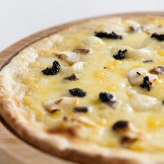 料理メニュー写真4種のチーズのクワトロフォルマッジ