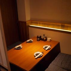 2名様から個室でご案内可能です。個室ご希望のお客様はご予約の際にお申し付け下さい!