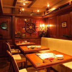 半個室【A客船室】落ち着いた雰囲気が最高